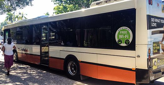 Public WiFi on Darwin buses