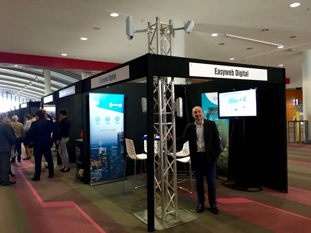 Easyweb Stand at the Future Cities Summit